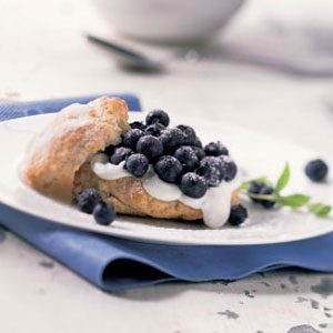 Fresh Blueberry Shortcakes