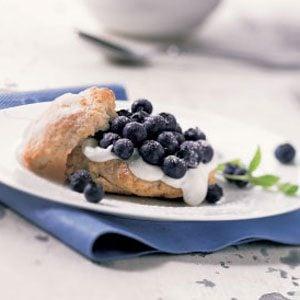 Fresh Blueberry Shortcakes