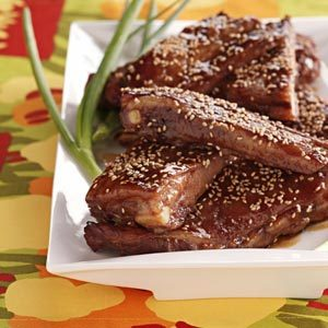 Maple Glazed Ribs Recipe
