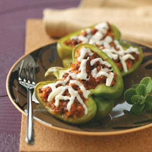 Healthy Vegetarian Stuffed Peppers