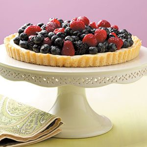 Fresh Fruit Tart Recipe