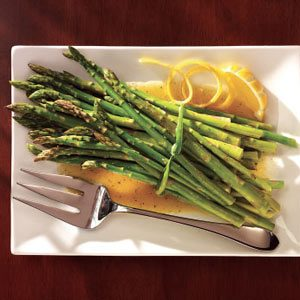 Asparagus with Citrus Dressing Recipe