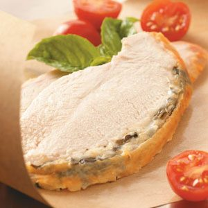 Romano Basil Turkey Breast Recipe