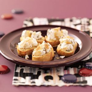 Goat Cheese Crostini Recipe