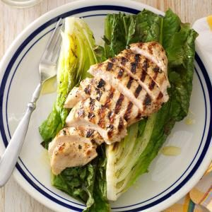 Grilled Basil Chicken