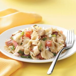 Balsamic Chicken Pasta Salad Recipe