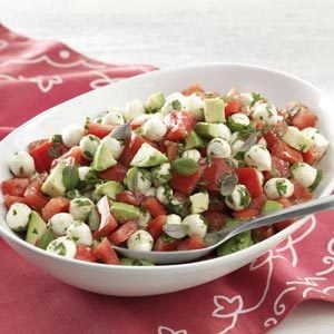 Fresh Mozzarella & Tomato Salad Recipe