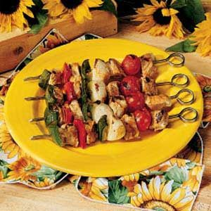 Marinated Pork Kabobs Recipe