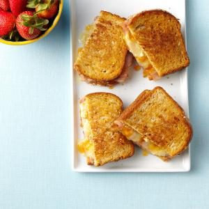 Ham and Brie Melts Recipe