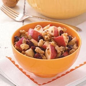 Trail Mix Apple Salad Recipe