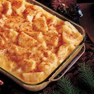 Hearty Cheese Potatoes Recipe   Taste of Home
