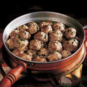 Meatballs and Gravy Recipe