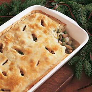 Chicken and Oyster Pie Recipe