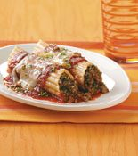 Stuffed Manicotti Recipe