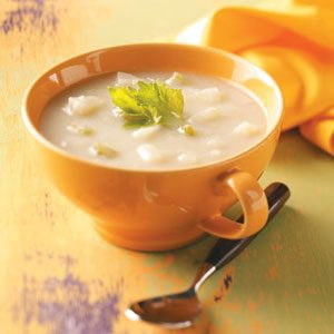 Lactose-Free Potato Soup Recipe