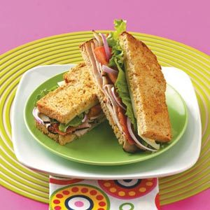 Apricot Turkey Sandwich