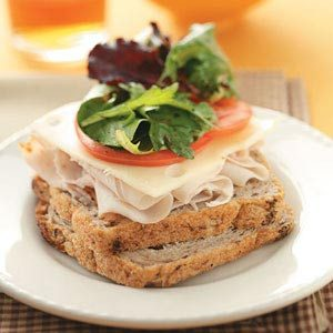 Turkey & Swiss with Herbed Greens