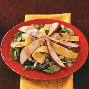 Harvest Salads with Pear Vinaigrette Recipe
