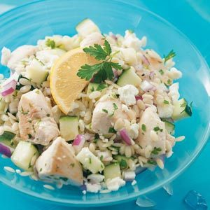 Summertime Orzo & Chicken Recipe