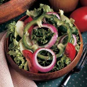 Green Garden Salad Recipe