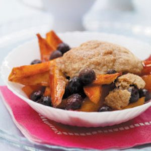 Mango-Blueberry Cobbler Recipe
