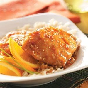 Sesame Orange Chicken Recipe photo by Taste of Home