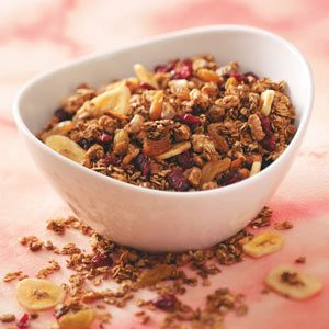 Energizing Granola Recipe