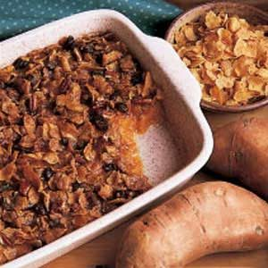 Cornflake Sweet Potato Casserole