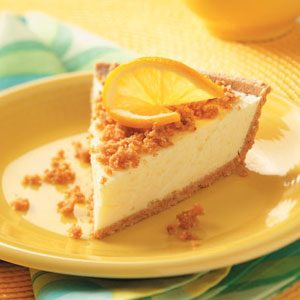 Lemon Cheesecake Pies Recipe