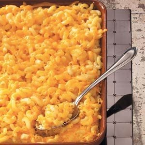 Old-Fashioned Macaroni and Cheese Recipe