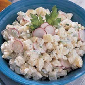 Red Potato Salad Recipe Taste of Home