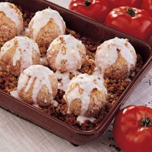Breaded Tomatoes Recipe