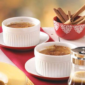 Caramel Apple Creme Brulee Recipe