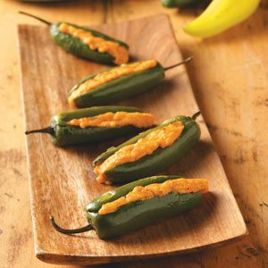 Grilled Stuffed Jalapenos Recipe