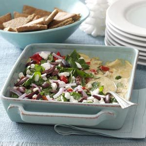 Mediterranean Layered Dip Recipe