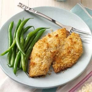 Breaded Baked Tilapia Recipe