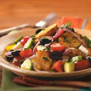 Grilled Greek Potato Salad Recipe