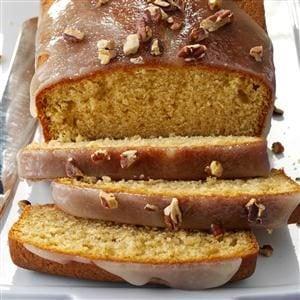 Glazed Spiced Rum Pound Cakes Recipe