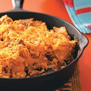 Easy Beef Taco Skillet Recipe photo by Taste of Home