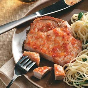 Chili-Apricot Pork Chops