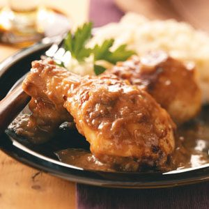 Savory Onion Chicken Recipe