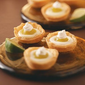 Lime Tartlets Recipe