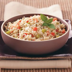 Basil Tomato Rice Recipe
