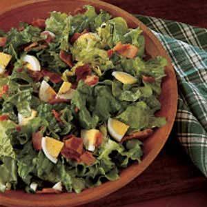 Classic Wilted Lettuce Salad Recipe