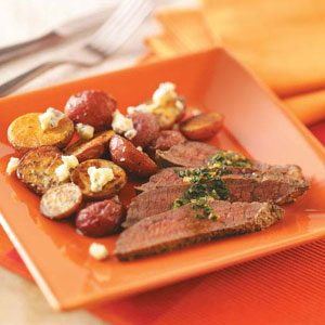 Garlic-Butter Steak Recipe