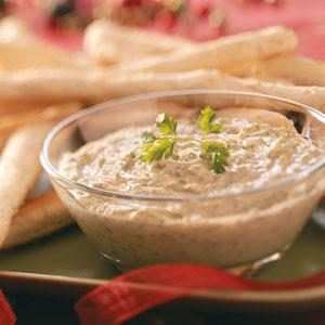 Warm Pesto Dip Recipe