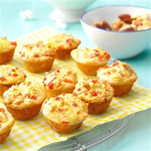 Bacon-Cheese Biscuit Bites Recipe