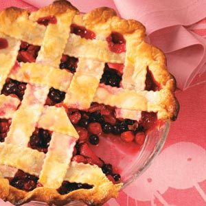 Cherry-Berry Fruit Pie Recipe