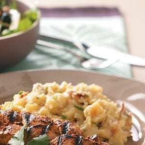 Cheese & Parsnip Mashed Potatoes Recipe