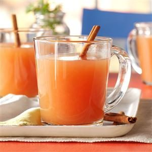 Hot Holiday Cider Recipe